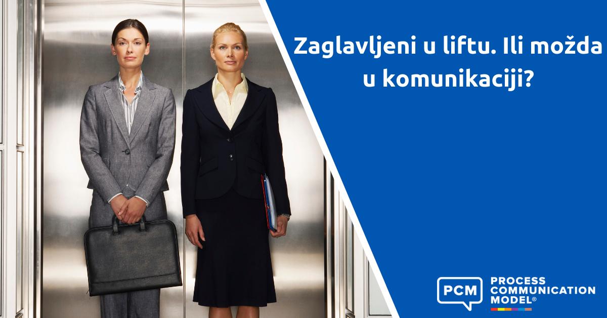 Zaglavljeni u liftu. Ili možda u komunikaciji?